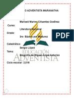 Biografia Miguel Angle Asturias