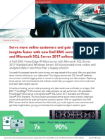 Serve more online customers with new Dell EMC servers and Microsoft SQL Server 2017 software - Summary