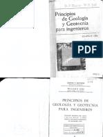 Principios de Geología y Geotécnia Para Ingenieros - Krynine & Judd