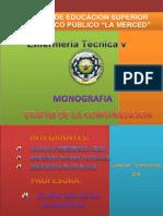 monografista de las etapas de comunicación