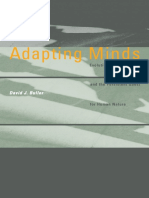 Adapting Minds Evolutionary Psychology and the Persistent Quest for Human Nature