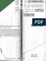 Las Deformaciones de Los Materiales de La Corteza Terrestre - Maurice Mattauer