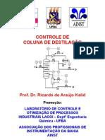 Controle de Coluna de Destilacao