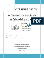 Música y TIC_El aula de música del siglo XXI