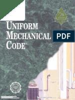 ICBO Mechanical Code-97