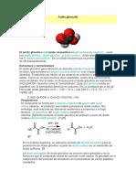 Ácido glyoxylico
