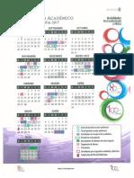 Calendario Académico 2016-2017 MNE