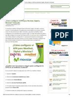 ¿Cómo configurar el APN para Movilnet, Digitel y Movistar_ Venezuela.pdf
