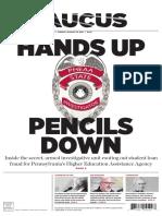 Hands Up, Pencils Down