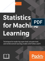 Statistics for Machine Learning • Techniques for Exploring