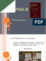 Ficha Técnica WPSSI-R