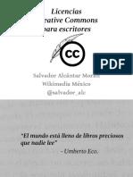 Licencias Creative Commons Para Escritores