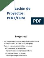 Planeación de proyectos PERT Y CPM