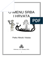 O Imenu Srba i Hrvata