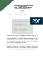 Nptel Python Week2 Lec03 Lists