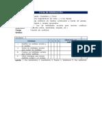Ficha de Observacion y Rúbrica