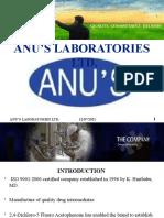 Anu's Laboratories