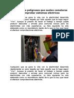 Peligros al comprobar sistemas eléctricos.pdf