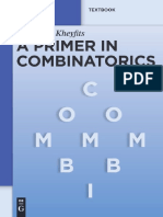 A Primer in Combinatorics-Alexander Kheyfits.pdf