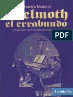 Melmoth El Errabundo - Charles Robert Maturin