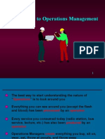 Operations Mangement Introduction