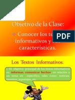 texto informativo.ppt
