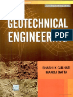 Geotechnical Engineering by Gulhatti and Dutta