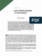 The Process of Democratization in Latin America - K Remmer