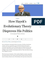 Bowles 2017 (Evonomics Interview) How Hayek's Evolutionary Theory Disproves His Politics