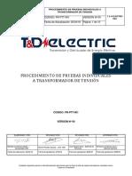Pr-ptt-001 - Proc. p. Individuales a Transf. de Tensión