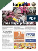 Periódico de escolombia.es de julio-agosto