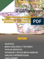 Estudio de los arcos magmAticos mesozoicos y cenozoicos del sur del perÚ