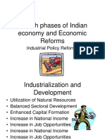 Growth and Industrial Policy Reforms1