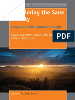 Reclaiming the Sane Society-Eassays on Erich Fromm's Thought