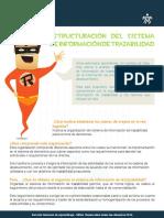 Estructuración Del Sistema de Información de Trazabilidad