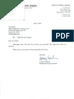 MSU PRR Response With Records