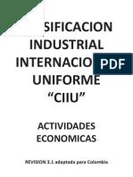 CIIU_Colombia