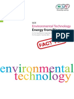 Environment Technology - Energy from Biomass