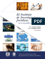 El Instituto de Investigaciones Juridicas