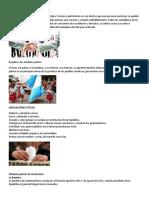 Civismo y Símbolos Patrios de Guatemala