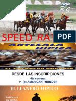 Speed Sabado 11-08-2018