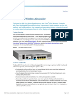 Cisco 3504 Wireless Controlller Datasheet