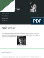 Adela Cortina - Ética1