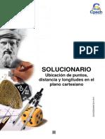 Solucionario Guía Ubicación de Puntos, Distancia y Longitudes 2015