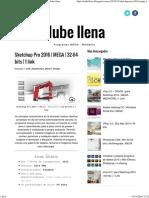Sketchup Pro 2016 _ MEGA _ 32-64 Bits _ 1 Link _ Nube Llena