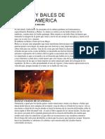 Danzas y Bailes de Centroamerica