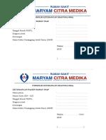 Formulir Keterangan Diagnosa Awa1
