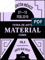 Material Art Fair 2019 Esp