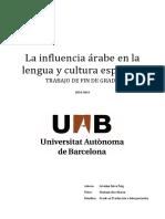 Selva, Ariadna - La Influencia Árabe en La Lengua y Cultura Española