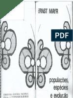 MAYR, Ernst. Populações, Espécies e Evolução.pdf